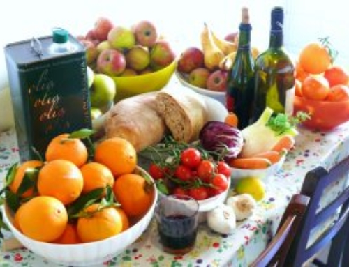 A Mediterranean Diet Works As Well AS PPI's To Relieve Reflux